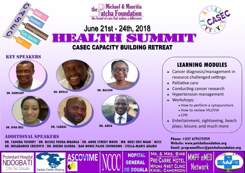 kribi health summit flyer